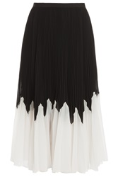 Raoul Betty Pleated Midi Skirt