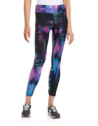 Calvin Klein Techno Print Athletic Pants Black Multi