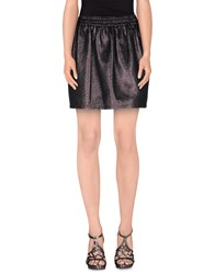 M.Grifoni Denim Skirts Mini Skirts Women Steel Grey