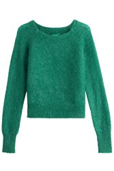 Zadig And Voltaire Pullover With Mohair Wool Green