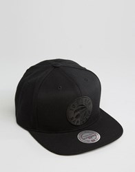 Mitchell And Ness Snapback Cap Geo Tech Toronto Raptors Black