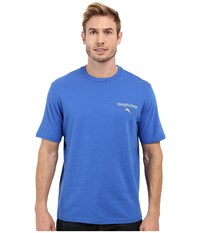 Tommy Bahama Island Riders Tee Cobalt Glass Men's T Shirt Blue