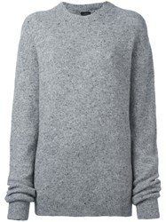 Joseph Crew Neck Sweater Grey