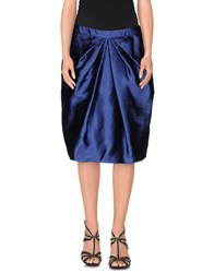 Moschino Skirts Knee Length Skirts Women Blue