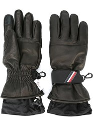 Moncler Grenoble Lambskin Gloves Black