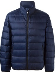 Love Moschino Padded Jacket Blue