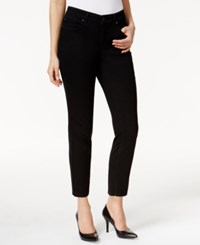 Charter Club Skinny Ankle Jeans Black Wash