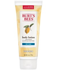 Burt's Bees Cocoa And Cupuacu Butter Body Lotion 6 Oz.