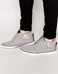 Jack And Jones Jack And Jones Vertigo Mid Plimsoll Grey