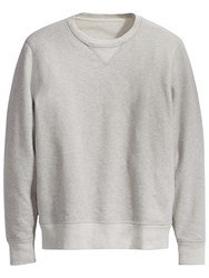 Levi's Made And Crafted Crew Neck Jumper Grey Heather