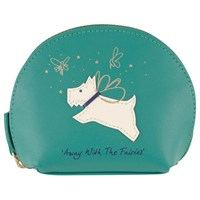 Radley Away With The Fairies Small Leather Coin Purse Green
