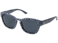 Tory Burch Ty9040 Navy Ren 8 Print Grey Blue Solid Fashion Sunglasses Gray
