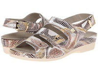 Helle Comfort 356 F Toast Multi Snake Women's Sandals Brown