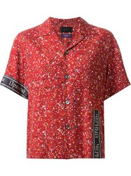 G.V.G.V. Printed Short Sleeve Shirt Red