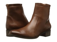 Paul Green Kal Boot Nougat Leather Women's Dress Boots Brown