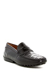 Mezlan Sport Genuine Leather Loafer Black