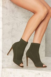 Kimber Knit Bootie Olive