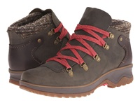 Merrell Eventyr Bluff Waterproof Bungee Cord Women's Lace Up Boots Olive