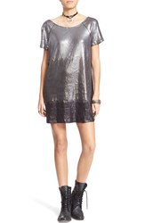 Women's Free People 'Drenched In Sequins' Embellished Dress