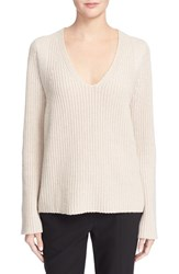 Helmut Lang Women's V Neck Wool And Cashmere Pullover
