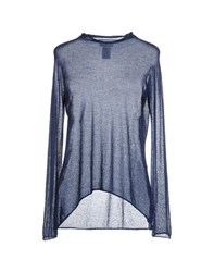 Gran Sasso Knitwear Turtlenecks Women Dark Blue