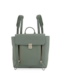 Pashli Leather Zip Backpack Agave 3.1 Phillip Lim