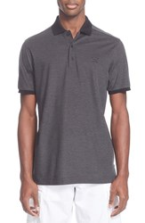 Men's Paul And Shark Tonal Trim Pique Polo