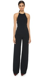 Narciso Rodriguez Harness Back Jumpsuit Black
