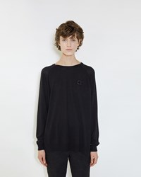 Simone Rocha Silk Mix Pullover Black