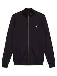 Lyle And Scott Long Sleeve Tricot Jacket True Black