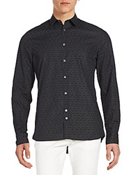 J. Lindeberg Printed Cotton Shirt Lead