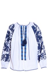 Talitha Salma Embroidered Jacket White