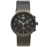 Braun Bn0035 Chronograph Watch Black