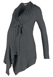 Noppies Jura Cardigan Anthracite Melange Mottled Anthracite
