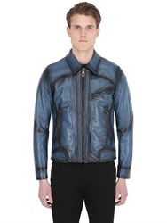 Ettore Bugatti Collection Chiron Leather Driving Jacket