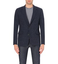 Oliver Spencer Oxford Wool Jacket Hemlock Navy