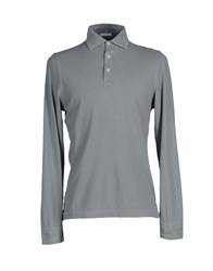 Zanieri Topwear Polo Shirts Men Azure