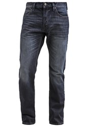Edc By Esprit Straight Leg Jeans Dark Blue