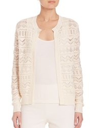 Ralph Lauren Lace Crochet Cardigan Cream
