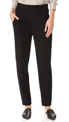 Vince Single Pleat Pants Black