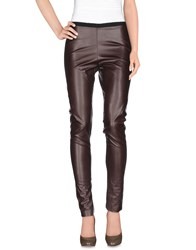 .Tessa Trousers Casual Trousers Women Dark Brown