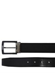 Salvatore Ferragamo 35Mm Adjustable Leather Belt