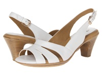 Softspots Neima White Velvet Sheep Nappa Women's Dress Sandals