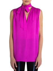 Emilio Pucci Sleeveless Silk Top Pink
