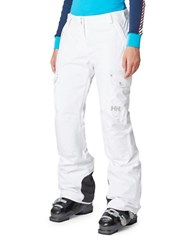 Helly Hansen Switch Cargo Ski Pants White