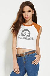 Forever 21 Joshua Tree Graphic Muscle Tee