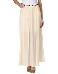 Suncoo Long Skirts Beige