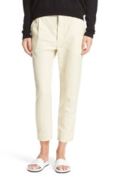 Vince Women's Slouchy Slim Ankle Trousers