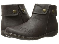 Soft Style Jerlynn Dark Brown Leather Women's Pull On Boots