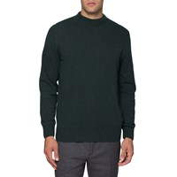 Nn.07 Nn07 Dark Green Merino Wool Martin Sweater